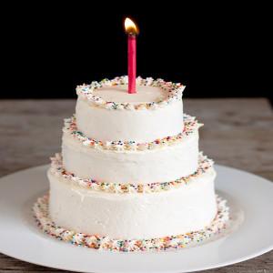 3 Tier Vanilla Cream Cake