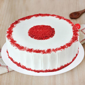Appetizing Red Velvet Cake