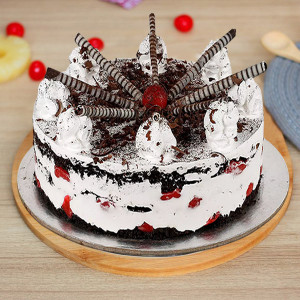 Cigar Black Forest Cake