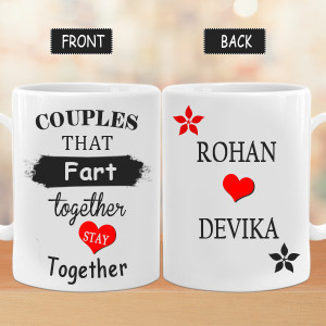 Couples Stay Together Mug