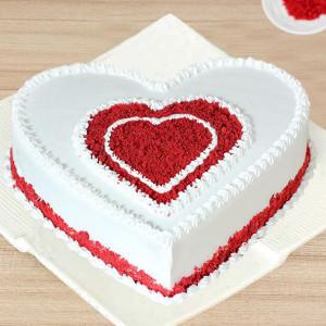 Heartfelt Red Velvet Cake