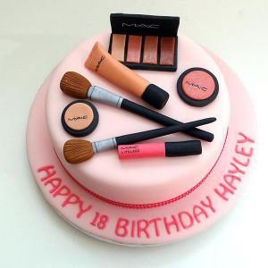 MAC Makeup Cake