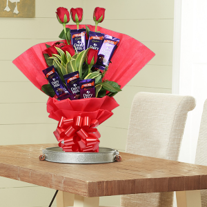 Red Roses Chocolate Bouquet