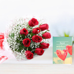 Roses N Greeting Card