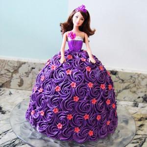 Stunning Barbie Doll Cake