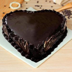 Truffly Heart Cake