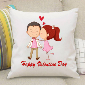 Valentine Kissing Cushion