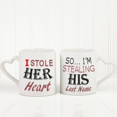 Be Mine Personalised Mug