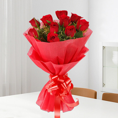 Celebration Red Roses Bouquet