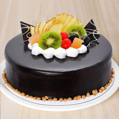 Choco Fruit Cake