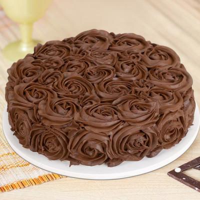 Chocolate Rose Cake