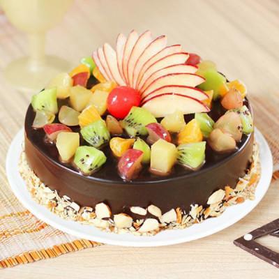 Chocolaty Fruit Cake