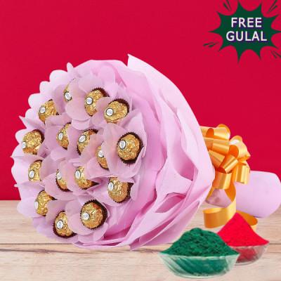 Ferrero Rocher & Gulal Combo