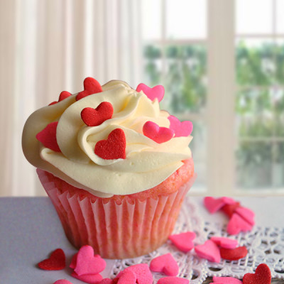 Little Heart CupCakes