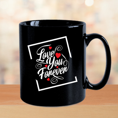 Love You Forever Valentine Mug