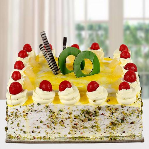 Cherry Topping Pineapple Cake