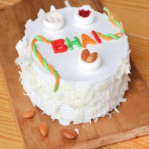 1kg White Forest Rakhi Special Cake