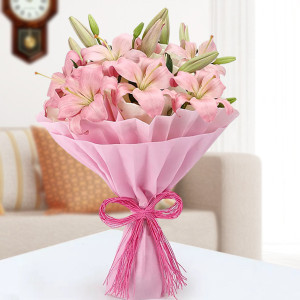 Admirable Pink Lilies