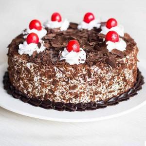Black Forest 1 Kg Cake