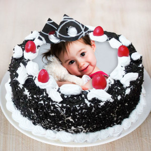Blackforest Photo Cake