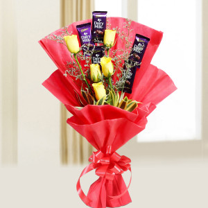 Cadbury N Roses Bunch