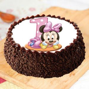 Chocochip Photo Cake