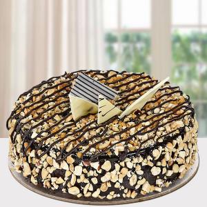 Crunchy Choco Cake