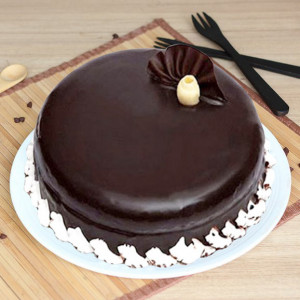 Dark Chocolate 1kg Cake