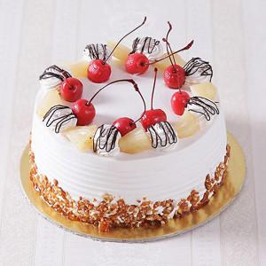 Fresh Butterscotch Cake
