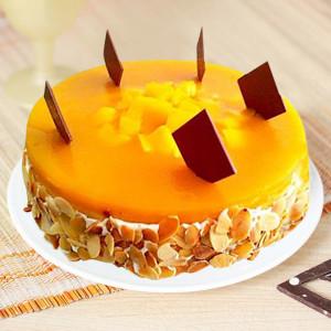 Gratifying Mango cake