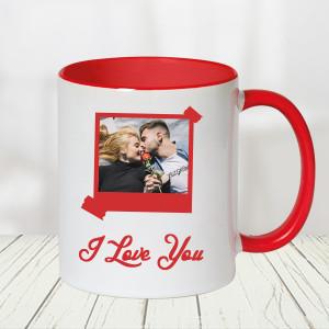 I Love U Mug