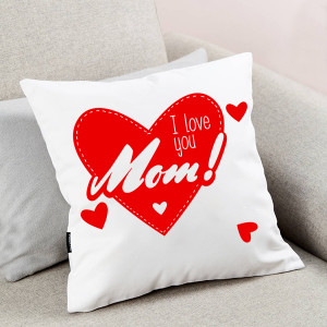 I Love You Mom Cushion