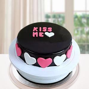 Kiss Me Truffle Cake