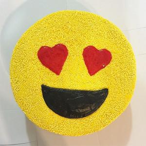 Love Emoji Cake