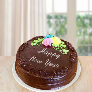 New Year Sumptuous Chocolate Cake