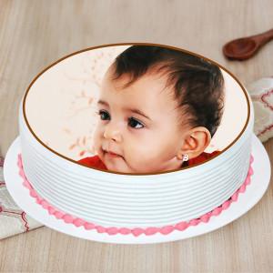 Personalised Strawberry Cake