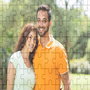 Personalised Sweet Couple Puzzle