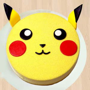 Pikachu cartoon Cake