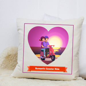 Romantic Ride Cushion
