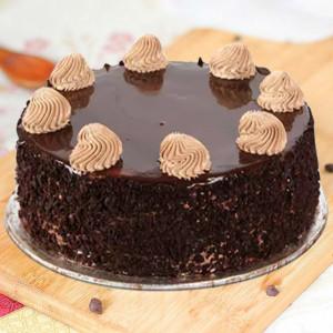 Slaking Chocolate Cake