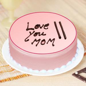 Strawberry Cream cake For Mom