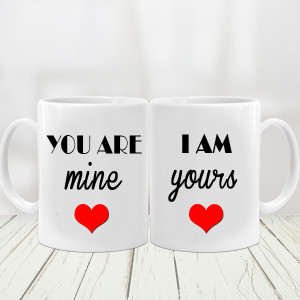 U R Mine Couple Mug
