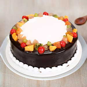 Wild Fruit Forest Cake