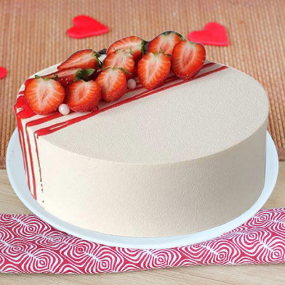 5 Star Strawberry Cake
