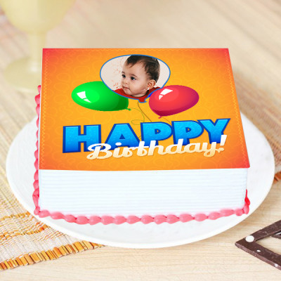 Birthday Special Photo Cake
