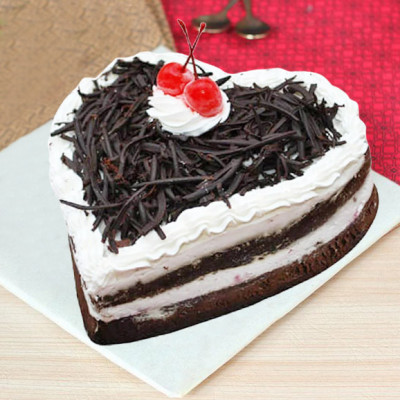 Blackforest Heart Cake