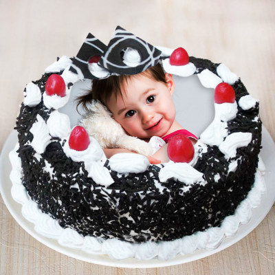 Blackforest Photo Cake