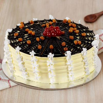 Choco Spiral Pineapple Cake