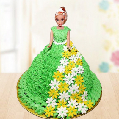 Classic Wonder Doll Cake