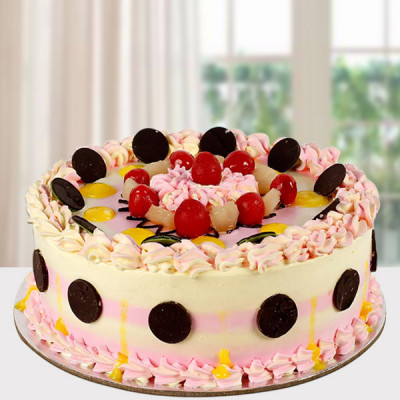 Colorful Creamy Cake